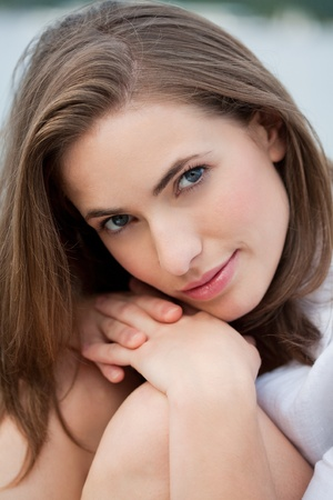 beauty portrait from an attractive young woman