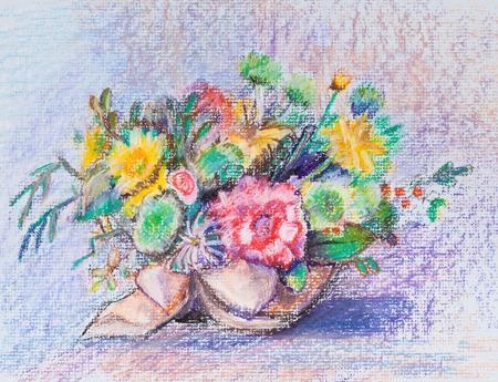 celebratory: Celebratory bouquet from various flowers