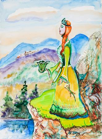 herrin: Fairy Tail, Herrin von Kupfer Berge
