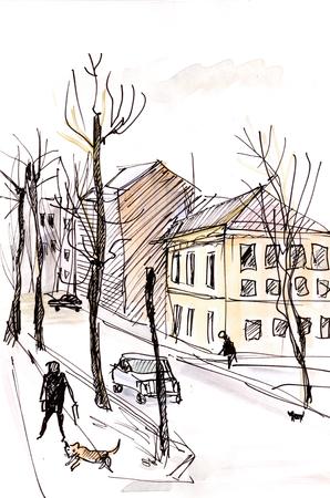 Ancient Russian town Staraya Russa