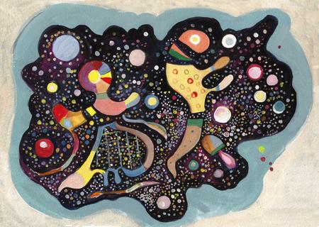 On Kandinsky's motives. Soap bubbles of the childhood