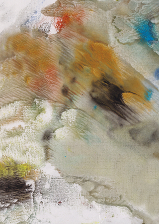 Strong wind near lake, autumn, abstract picture