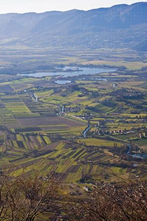 rieti: Reserve Lakes Rieti in Italy