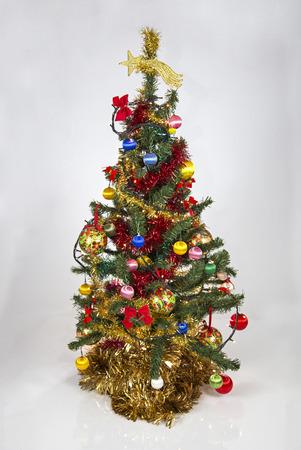 tree decorations: Christmas tree