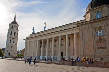 vilnius: Cathedral of Vilnius in Lithuania