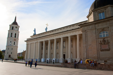lithuania: Cathedral of Vilnius in Lithuania