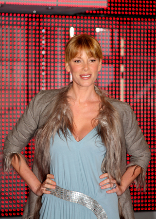 big brother: Alessia Marcuzzi.Rome - CinecittPress conference of italian reality television show Big Brother 8. Editorial