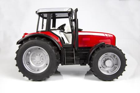 juguetes: Tractor de juguete Foto de archivo