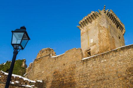 Antica fortezza medievale in provincia di Viterbo nel Lazio in Italia. Archivio Fotografico - 57138019
