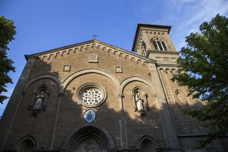 viterbo: Sanctuary of Rupes at Castel SantElia in the province of Viterbo in Italy.
