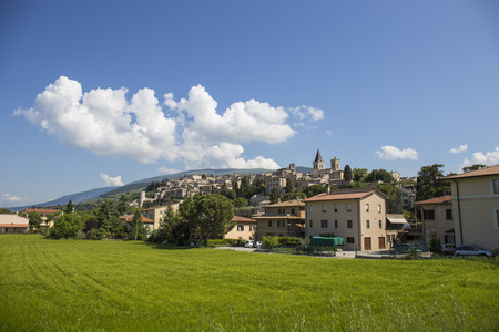 vadi: Spello. Beautiful medieval town in central Italy in Umbria.