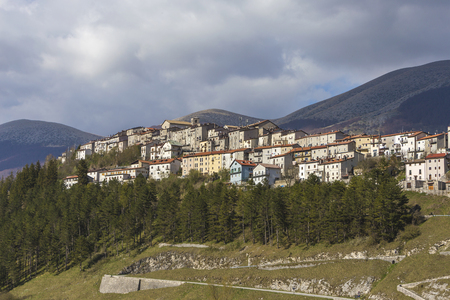 Opi in the National Park of Abruzzo in Italy.