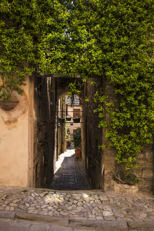 Spello. Medieval town in central Italy in Umbria. Stock Photo