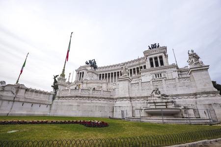 The Victorian at Piazza Venezia in Rome.
