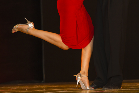 Tango-show in Italië.