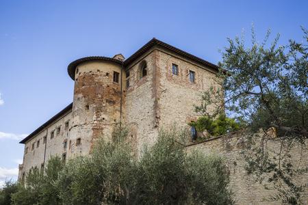 Ducal Palace in Castiglione del Lago in Umbria in Italy
