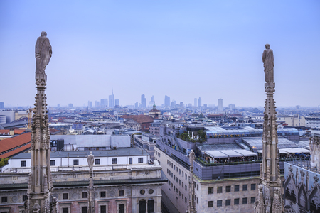 Cityscape of Milan in Italy. Stock Photo - 90081348