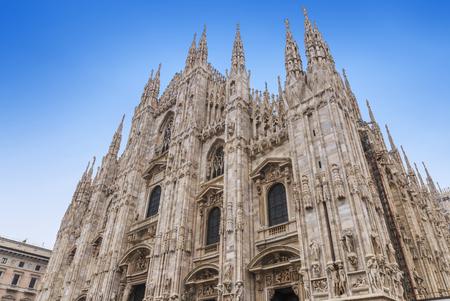 Duomo of Milan in Italy. Stock Photo - 90087610