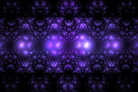 fractal pink: Swirly ornament. Abstract intricate symmetric background. Fantasy fractal texture in purple pink and black colors. Digital art. 3D rendering. Stock Photo