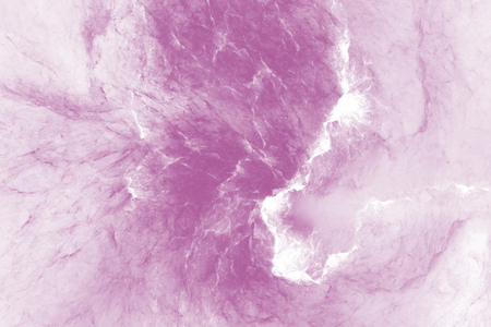 Abstract marble texture. Fractal background in pink colors. Fantasy digital art. 3D rendering.