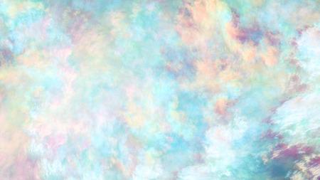 Abstrakte bunte gemalte Beschaffenheit. Fraktaler Hintergrund. Digitale Fantasiekunst. 3D-Rendering. Standard-Bild