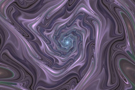 Abstract colorful pink and gray wavy texture. Fantasy fractal background. Digital art. 3D rendering.