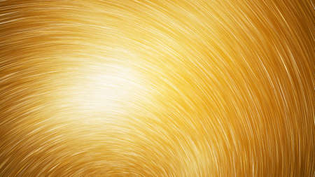 Abstract golden star trails. Shiny holiday background. Digital fractal art. 3d rendering. Imagens