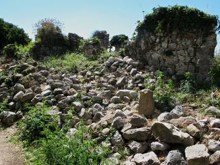montenegro: Ruins of old town Bar in Montenegro