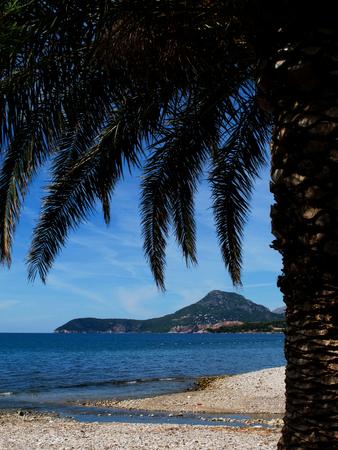 Wonderful landscape of Adriatic sea in Montenegro photo