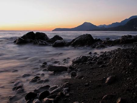 montenegro: Wonderful landscape of Adriatic sea in Montenegro