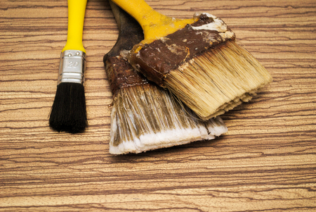 reparations: Details while painting a picture