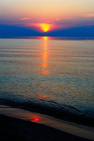 littoral: Baltic sea coast in Poland