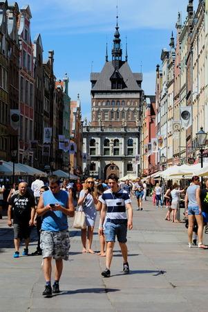 golden gate: Golden Gate Old Town Gdańsk in Poland