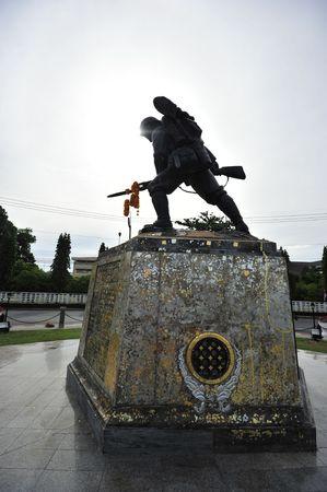 invading: Wirathai Monument  Stock Photo