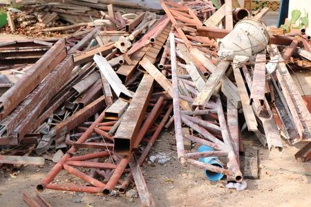 Scrap of construction materials
