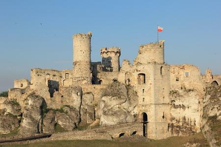 castle ruins in Ogrodziencu photo
