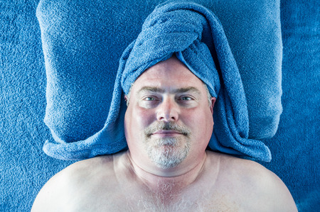 revitalize: Man At The Spa