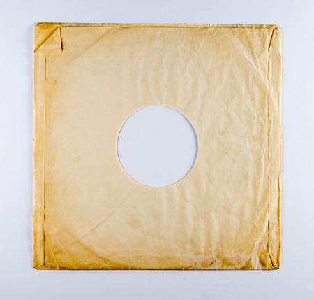 the sleeve: Vintage Vinyl Album Sleeve Stock Photo