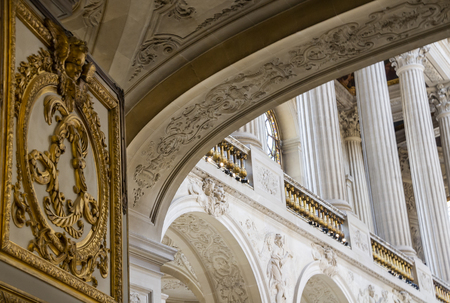 royals: Architectural Detail Palace of Versailles Editorial