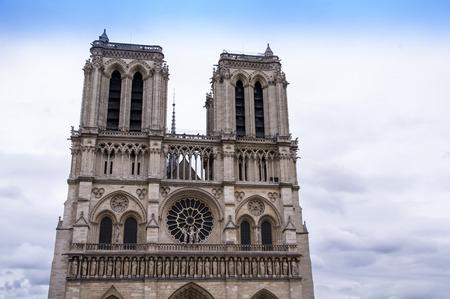 notre: Notre Dame Cathedral Closeup