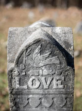 Love and Peace Dove Granite Statue