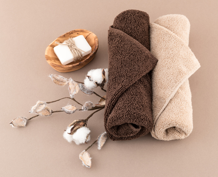 Spa Handmade Soap and Luxury Towels