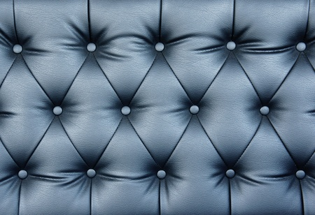 cushioned: Buttoned leather pattern of the highest quality.