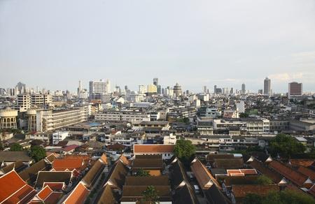 stock agency: A Bangkok vista sulla citt� cityscape