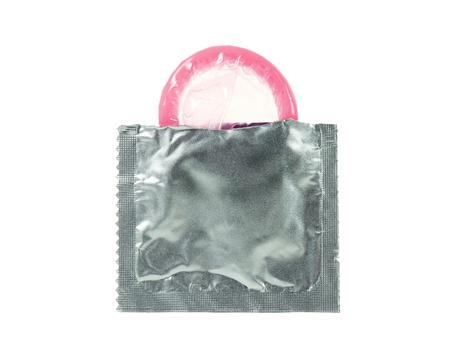 A first time open condom Stock Photo - 10293971