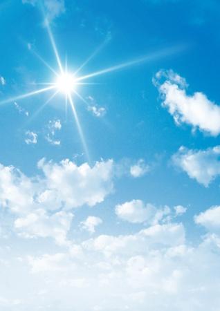 Ein Beauty-Himmel Himmel Wolken