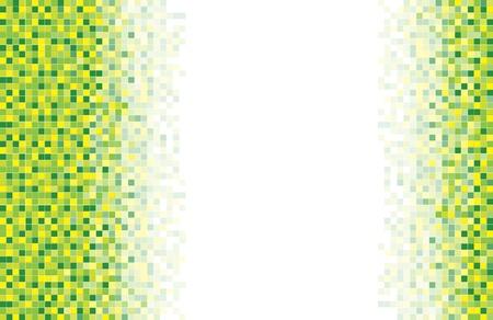 mosaic tile: Un mosaico verde sfondo a sezioni