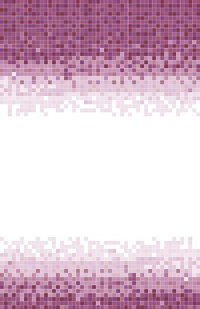 A Pink mosaic tile background  photo