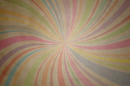 muti: A paper  retro color pattern line