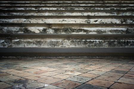 sidewalks: Grunge room, cement texetuer